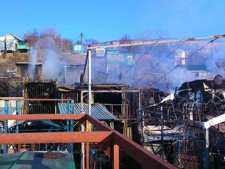 ВОдессе пожар напричале уничтожил 15 частных домов