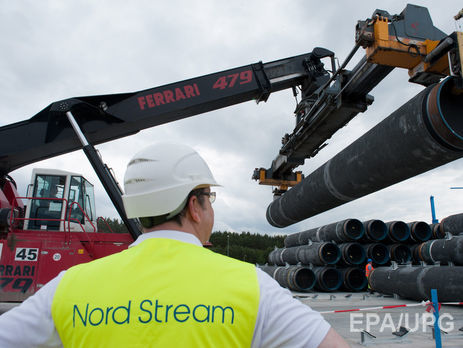 Бундестаг поддержал строительство Северного потока-2