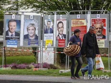 Претендентов  впрезиденты предупредили обугрозе терактов— Выборы воФранции