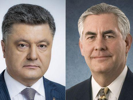 Тиллерсон: антироссийские санкции останутся всиле, пока РФ не возвратит Крым Украине