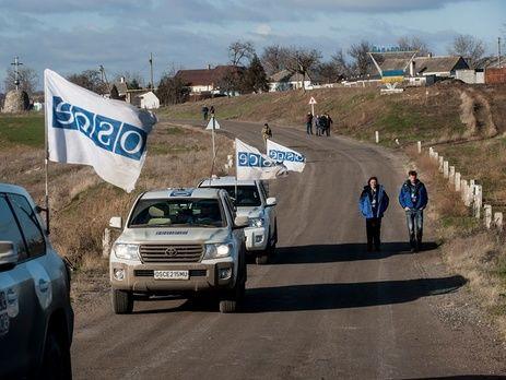 Подрыв машины ОБСЕ: украинские военные ответили наобвинения «ЛНР»