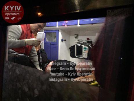Стрельба вКиеве: три человека госпитализированы вбольницу