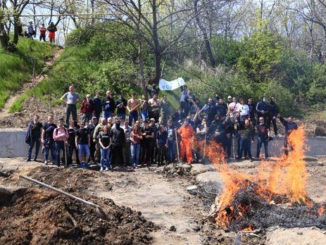 ВОдессе произошел конфликт между активистами различных политических взглядов, 10 человек задержали