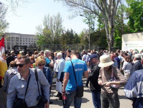 Людей эвакуируют с площади