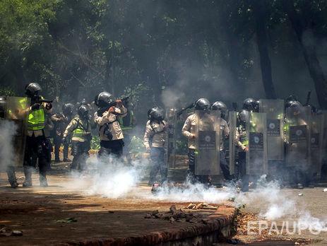 В ходе антиправительственных протестов в Венесуэле пострадали более 230 человек
