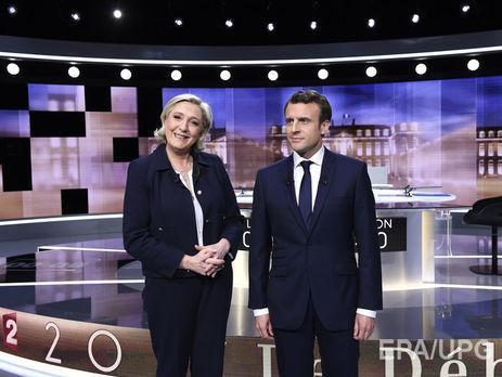 Макрон и Ле Пен вышли во второй тур выборов