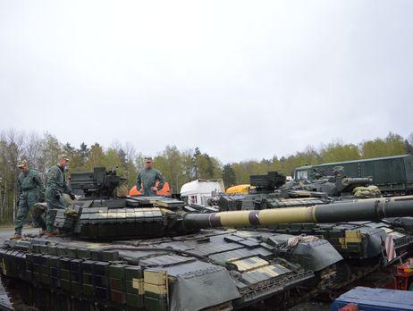 «Укроборонпром» отправил вГерманию партию модернизированных танков Т-64БВ