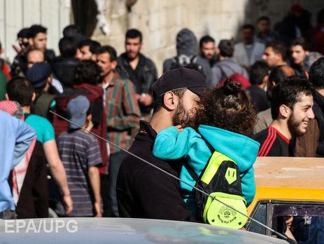 ВДамаске выводят первую группу боевиков изквартала Барзе