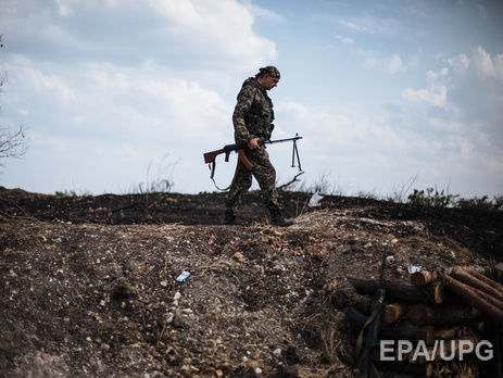 Взоне АТО военный подорвался нарастяжке и умер ,— штаб