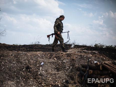 Взоне АТО нарастяжке подорвался украинский военный— штаб АТО