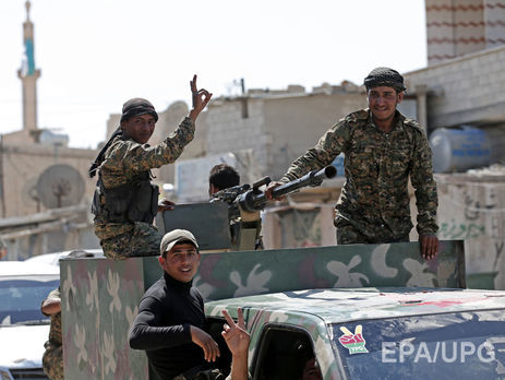 Підтримувані США повстанці вибили бойовиків «ІД» із ключового міста уСирії