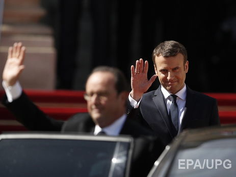 Інавгурація новообраного президента Франції Еммануеля Макрона: онлайн-трансляція