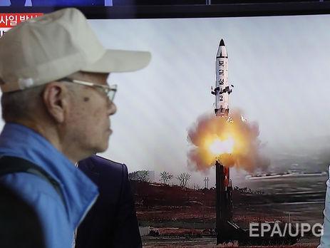 КНДР назвала удачным  испытание баллистической ракеты