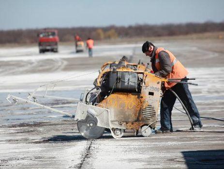Пасажирський літак дістав пошкодження, приземлившись нанезастиглу бетонну смугу ваеропорту Запоріжжя