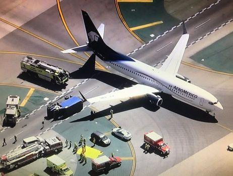 УЛос-Анджелесі зіткнулися пасажирський літак і вантажівка: є постраждалі