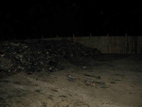 Ночью наКиевщине пытались разгрузить 20 тонн львовского мусора,— милиция