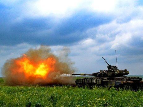 Боевики обстреляли позиции сил АТО около Опытного из«Градов»