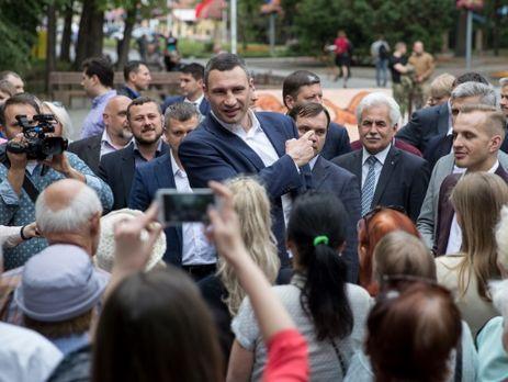 Кличко объявил оначале реконструкции Гидропарка