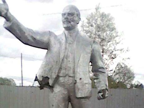 ВАмурській області Росії школярі битами розбили пам'ятник Леніну