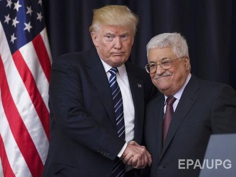 Аббас: Візит Трампа відродив надію на підписання мирного договору з Ізраїлем