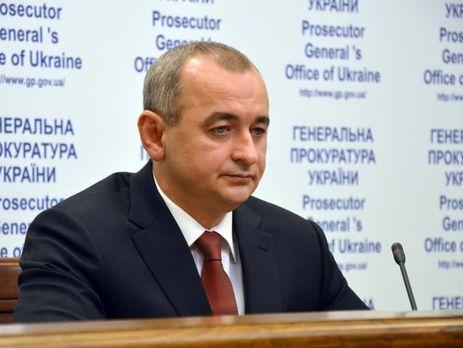 Матіос заявив, щоГорбатюк «зливає» матеріали кримінальних проваджень щодо злочинів проти Євромайдану