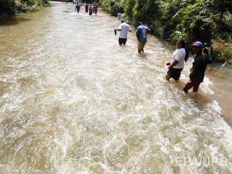 НаШрі-Ланці врезультаті повеней загинули понад 90 осіб