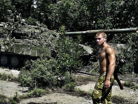 Валерий Ананьев в зоне АТО