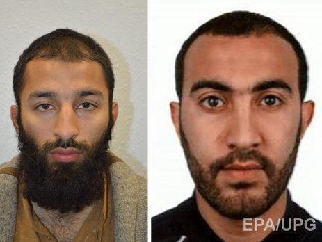 Бутт і Редуан упізнані як учасники нападу на Лондонському мосту