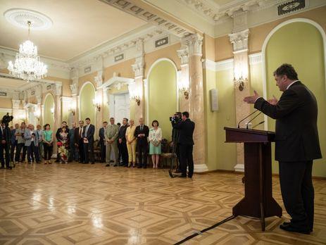 Порошенко насвято журналістів згадав нерозкрите вбивство Шеремета