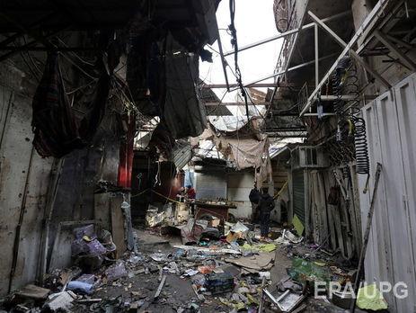 В Іраку смертниця підірвала себе наринку, щонайменше 30 загиблих
