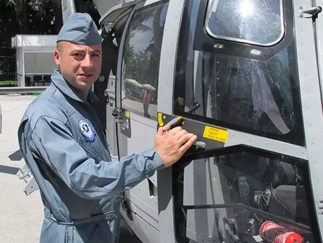 Болгарский военный вертолет упал вЧерное море научениях