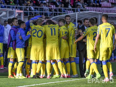 Україна перемогла Фінляндію у відборі начемпіонат світу зфутболу 2018 року