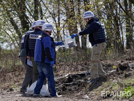 На завоеванной части Донбасса обстреляли беспилотник ОБСЕ