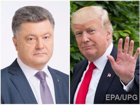 СМИ узнали дату встречи Порошенко иТрампа