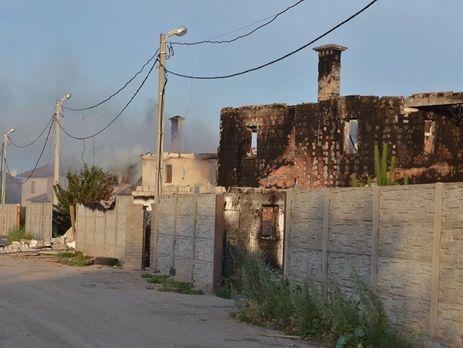 Боевики обстреляли жилой сектор поселка Бердянское вблизи Мариуполя