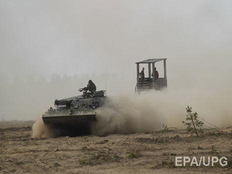 Війська НАТО відпрацьовують сценарій позахисту країн Балтії від вторгнення Росії