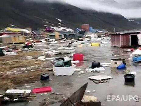 Гренландію сколихнув землетрус і цунамі: є постраждалі, кілька будинків змило вморе