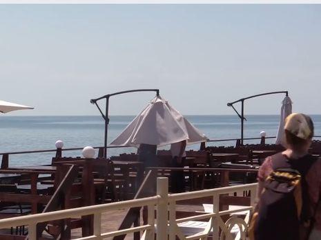 Журналисты не нашли в Алуште туристов с материковой Украины