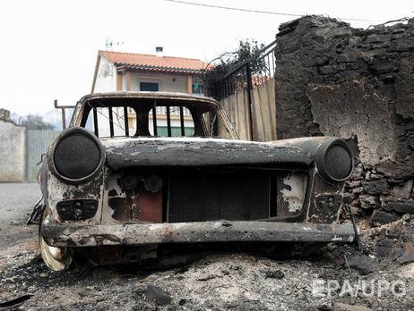Кількість жертв лісової пожежі уПортугалії зросла до64 осіб