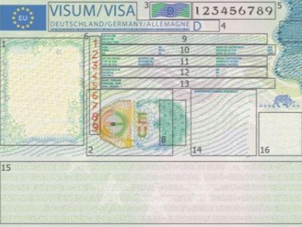 ВластиЕС изменят дизайн шенгенской визы
