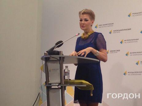 Мария Максакова осваивается всветских кругах государства Украины