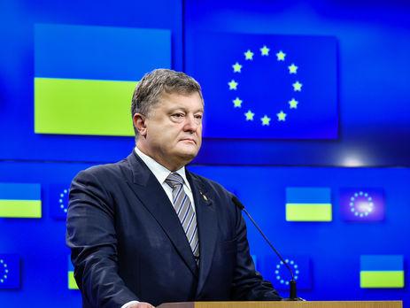 Порошенко: сегодня Европа продлит санкции против Росссии