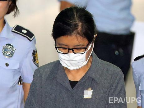 У Південній Кореї подруга екс-президента отримала 3 роки тюремного ув'язнення
