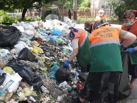 ИзЛьвова задень вывезли 2% накопленного мусора