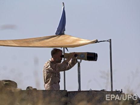 Израильские ВВС обстреляли сирийские позиции на Голанских высотах