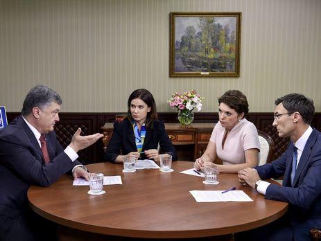 Порошенко анонсировал вступление всилу соглашения обассоциации Украины сЕС
