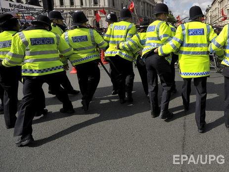 Сутички наакції протесту уЛондоні: постраждало шість поліцейських
