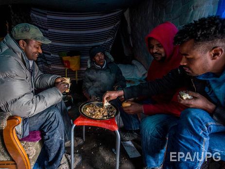 ВКале произошла драка между африканскими мигрантами