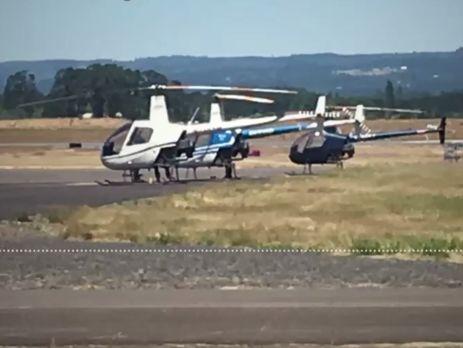 ВСША убит мужчина, пытавшийся угнать вертолет
