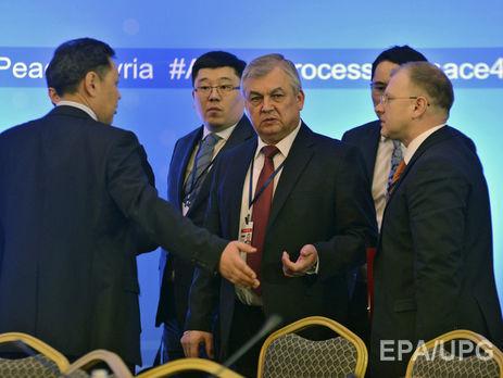Встолице Казахстана возобновлены переговоры поСирии